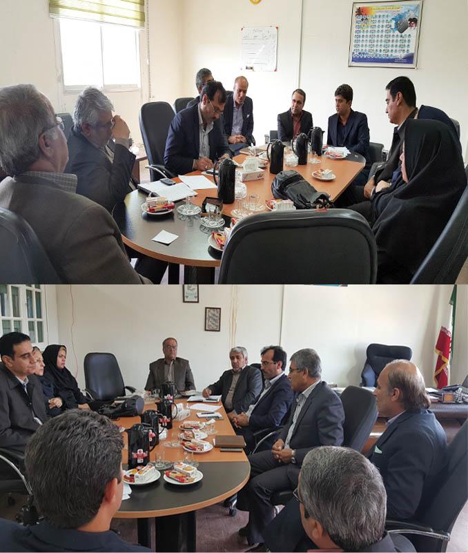 جلسه هم اندیشی با معاونین متوسطه و پژوهش وبرنامه ریزی اداره کل آموزش و پرورش استان