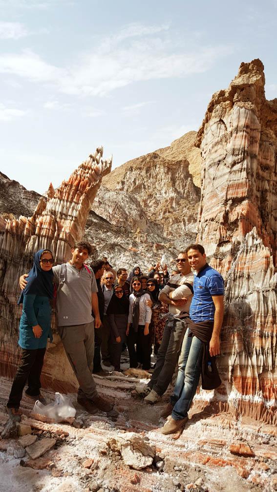 بازدید از کوه نمکی جاشک