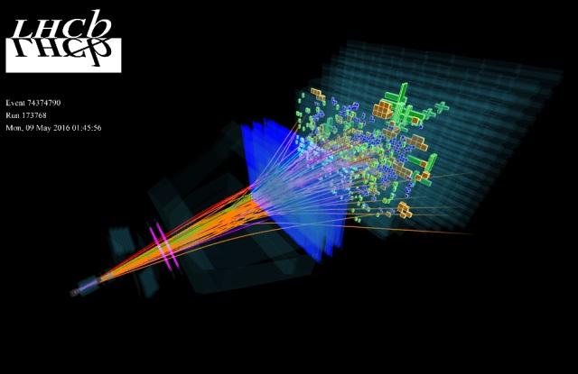 برخورددهنده بزرگ هادرونی LHCb یک سیستم جدید متشکل از پنج ذره را کشف کرد.