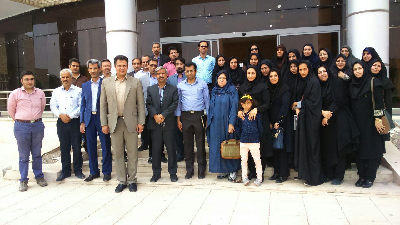 بازدید انجمن کرمان از دانشگاه ولی عصر(عج) رفسنجان